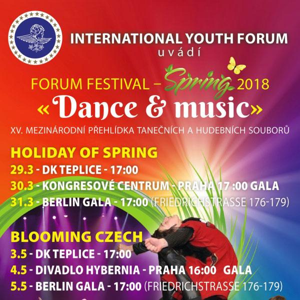 XV. Mezinárodní festival ROZKVETLÉ ČECHY 2018