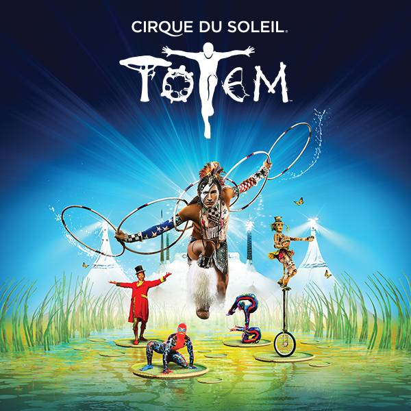 Cirque du Soleil Totem under the white Big Top