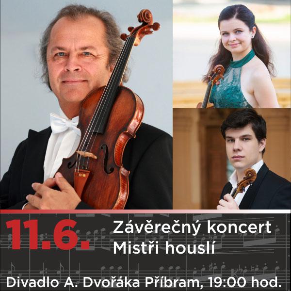 Závěrečný koncert - Mistři houslí