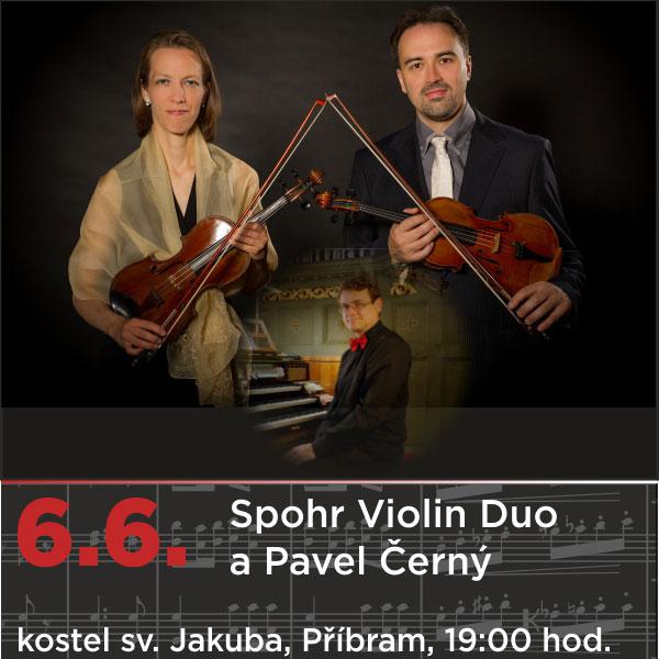 Spohr Violin Duo a Pavel Černý