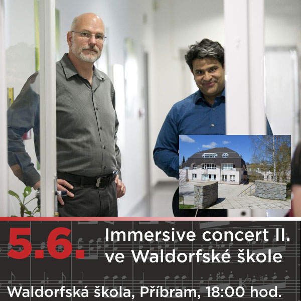 Immersive concert II. ve Waldorfské škole
