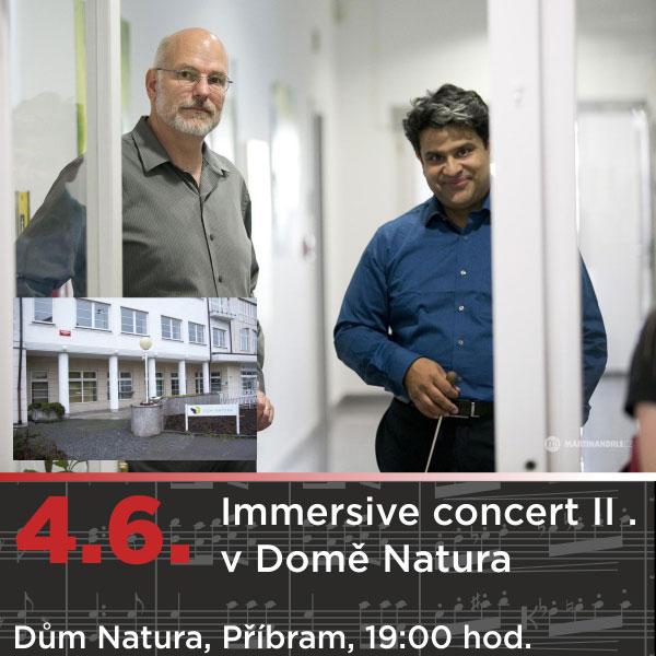 Immersive concert II. v Domě Natura