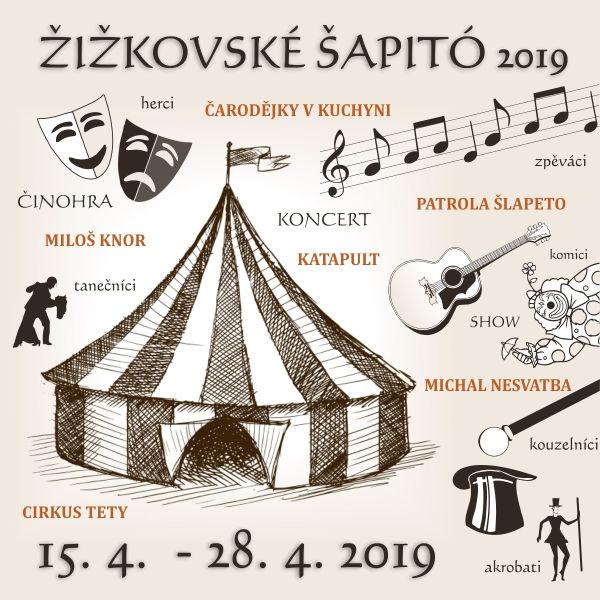 HUSÍ KRKY / cirkus TeTy, Žižkov