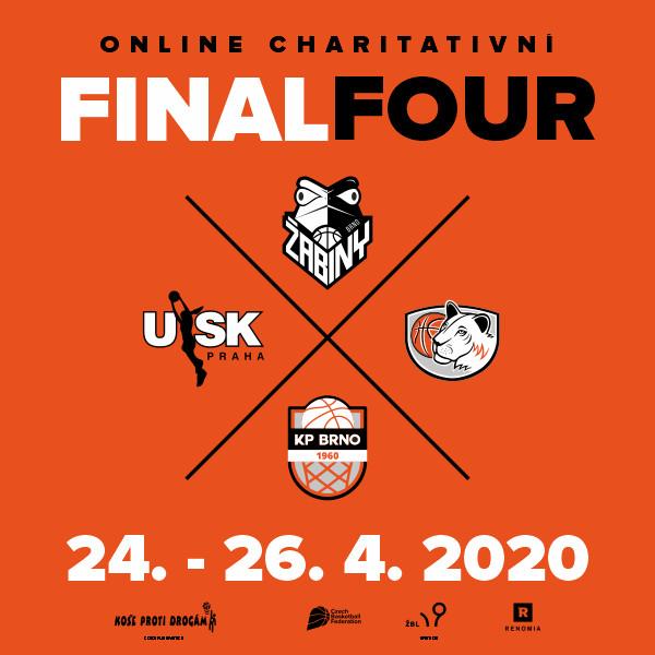 Charitativní Final Four - Nadace KOŠE PROTI DROGÁM
