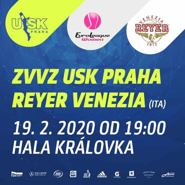 ZVVZ USK Praha - Reyer Venezia