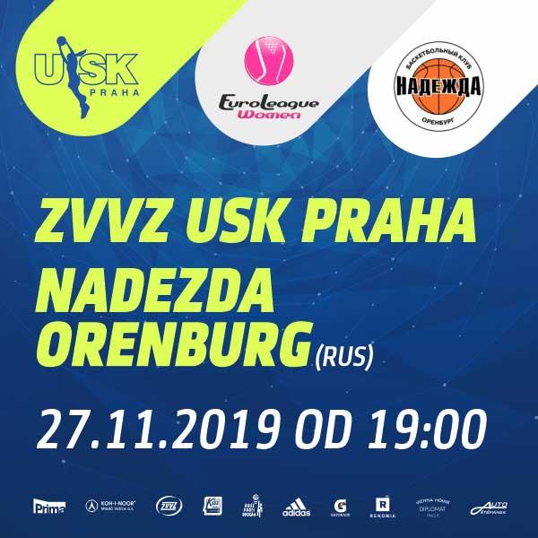 ZVVZ USK Praha - Nadezhda Orenburg Region