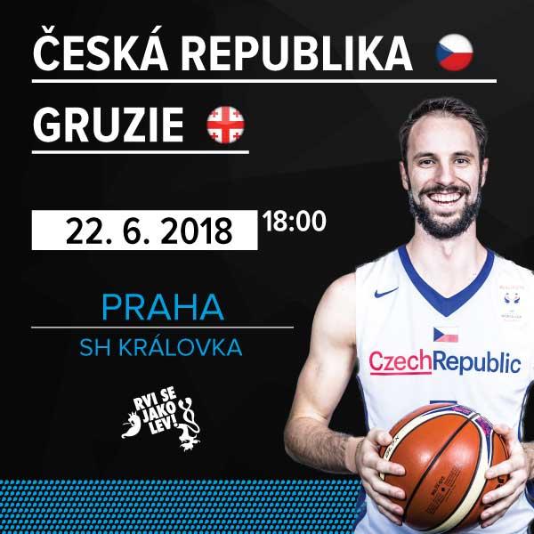 Mezinárodní utkání mužů ČR-Gruzie