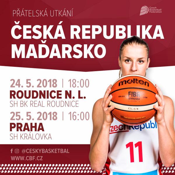 Mezinárodní utkání ženy ČR-Maďarsko