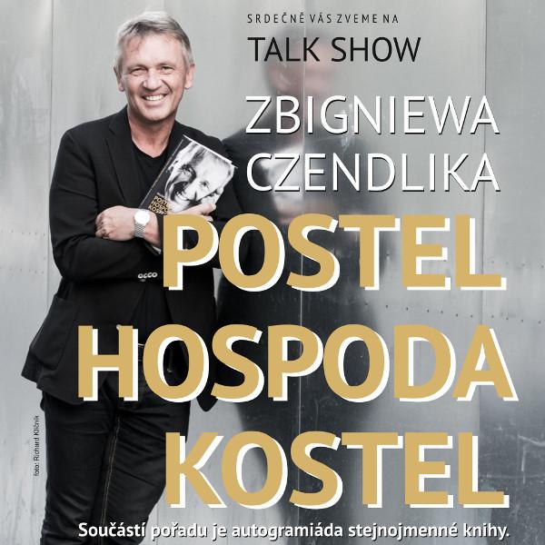 """Zbigniew Czendlik """"POSTEL HOSPODA KOSTEL"""""""