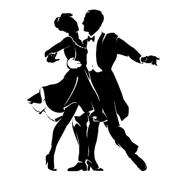 Vánoční taneční zábava - manželé Hvozdovi