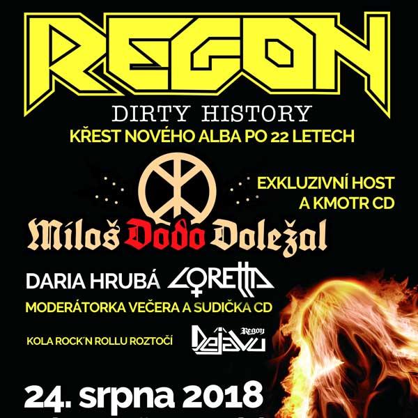 REGON - křest CD Dirty History