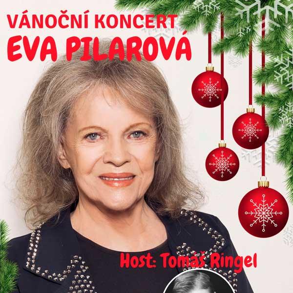 Vánoční koncert Evy Pilarové, host Tomáš Ringel
