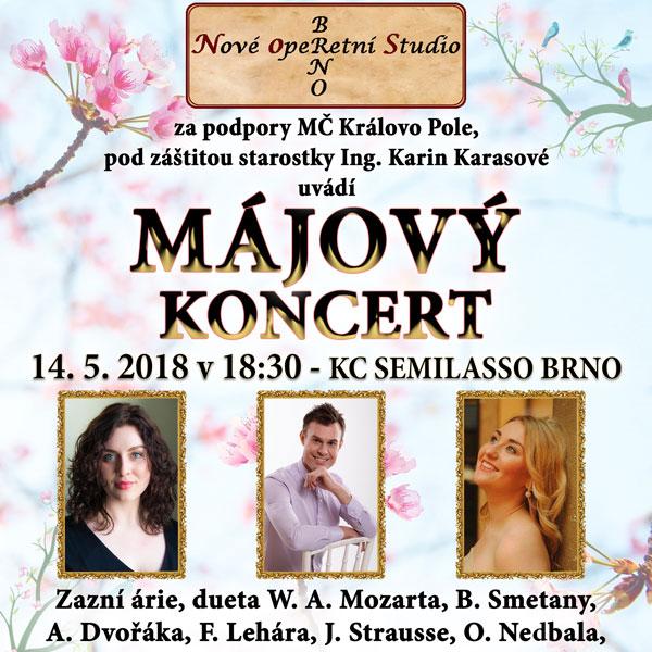 Nové operetní studio Brno uvádí Májový koncert