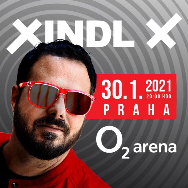 Koncert XINDL X- koncert v O2 universum Praha -O2 universum Praha