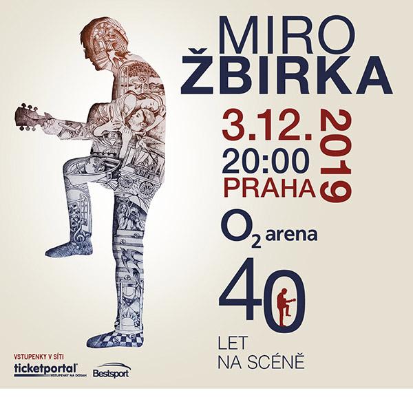 MIRO ŽBIRKA- koncert v Praze -O2 arena Praha