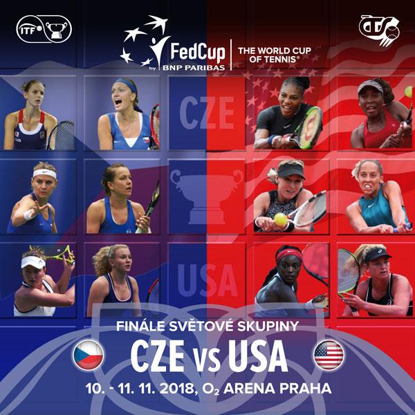 Fed Cup by BNP Paribas Česká republika vs. USA
