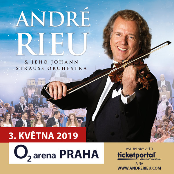André Rieu in Prague 2019