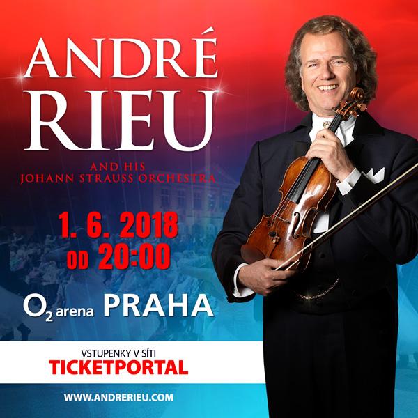 André Rieu in Prague 2018