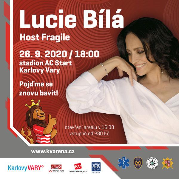 LUCIE BÍLÁ, host Fragile / POJĎME SE ZNOVU BAVIT!