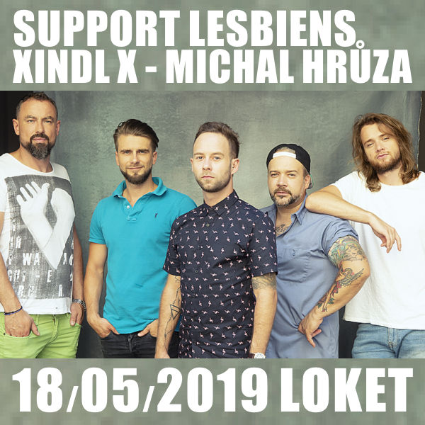 SUPPORT LESBIENS - XINDL X - MICHAL HRŮZA