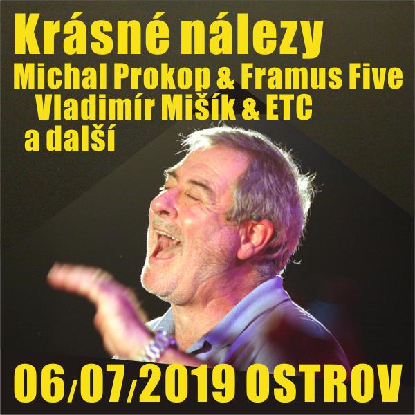 Krásné nálezy: Michal Prokop, Vladimír Mišík a dal