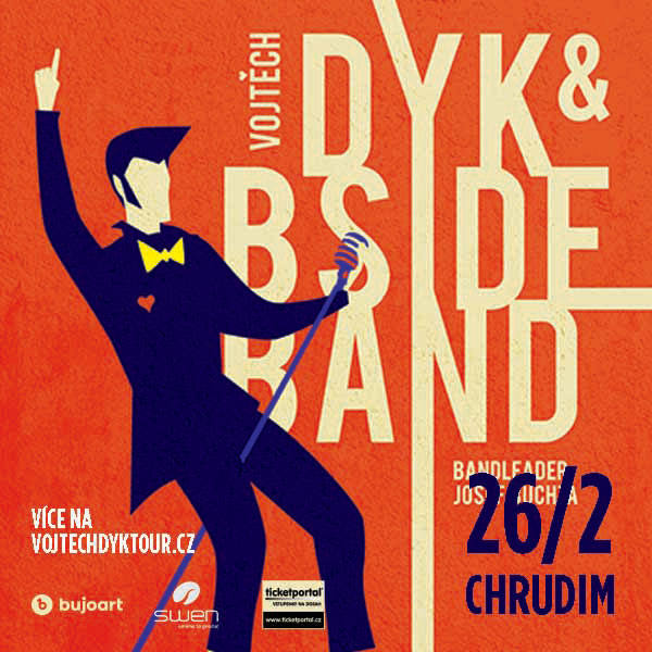 Vojtěch Dyk & B-SIDE BAND bandleader Josef Buchta