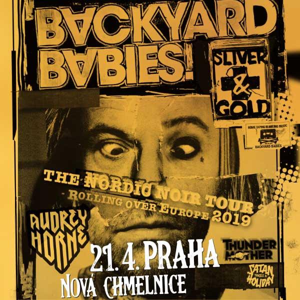 BACKYARD BABIES (SWE) - NORDIC NOIR TOUR 2019