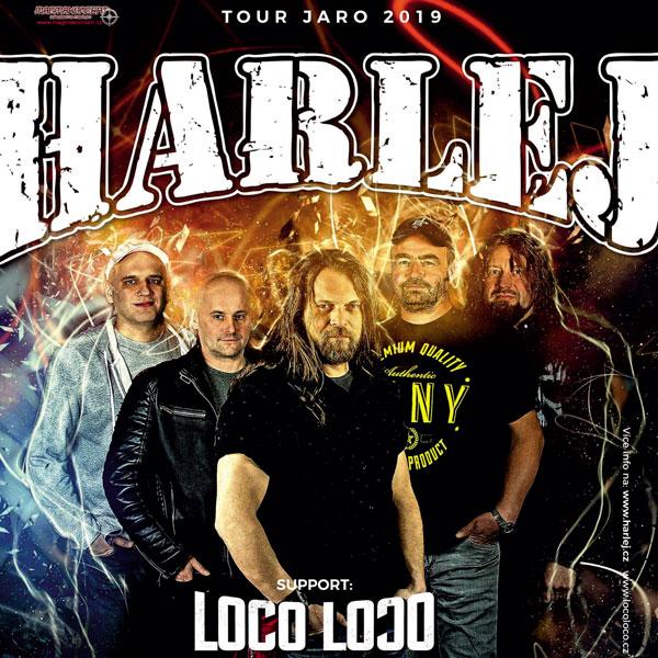 HARLEJ - Tour Jaro 2019