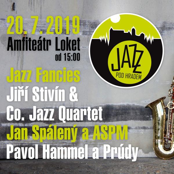 JAZZ POD HRADEM 2019- Loket- J. Stivín, J. Spálený, P. Hammel a další -Amfiteátr Loket