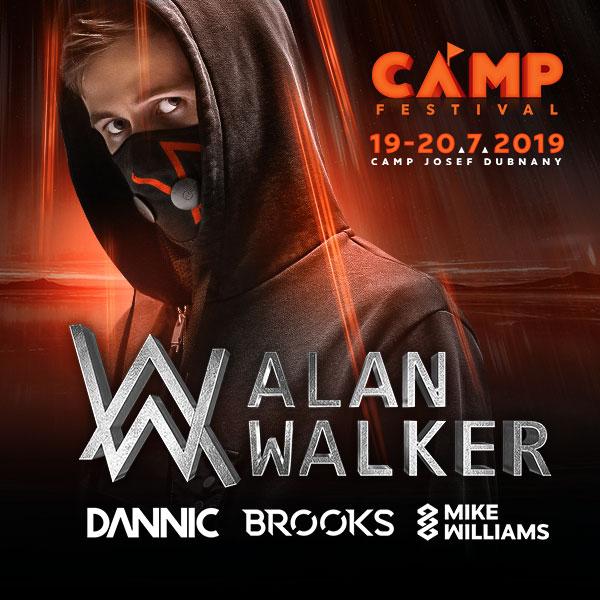 ALAN WALKER - CAMP FESTIVAL