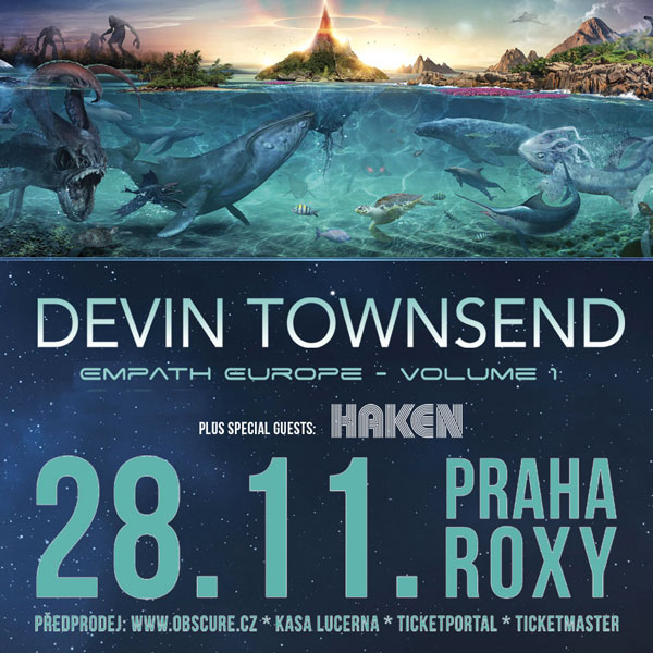 DEVIN TOWNSEND (CAN) + HAKEN (UK)