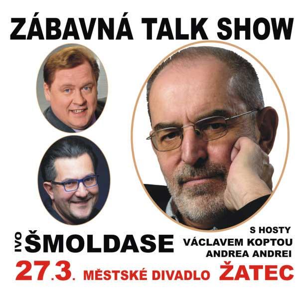 IVO ŠMOLDAS a hosté: Václav Kopta a Andrea Andrei