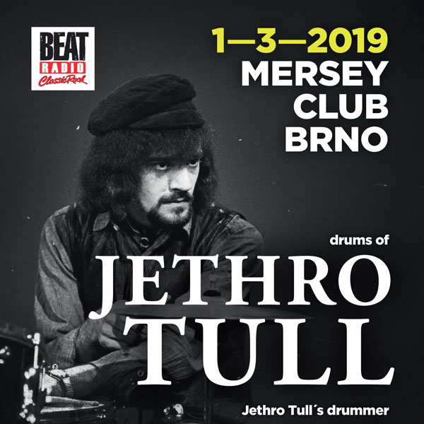 Drums of Jethro Tull – Clive Bunker /UK/