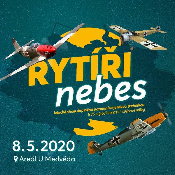 RYTÍŘI NEBES letecká show
