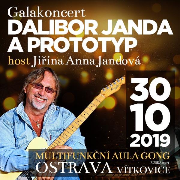 DALIBOR JANDA A KAPELA PROTOTYP, Galakoncert 2019