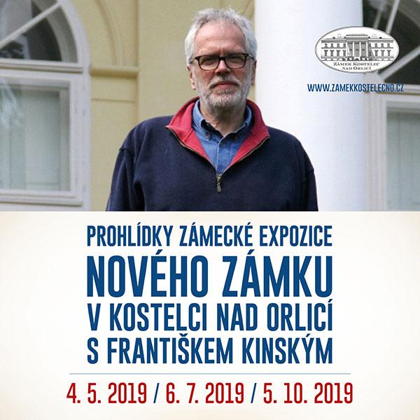 Prohlídky zámecké expozice s Františkem Kinským