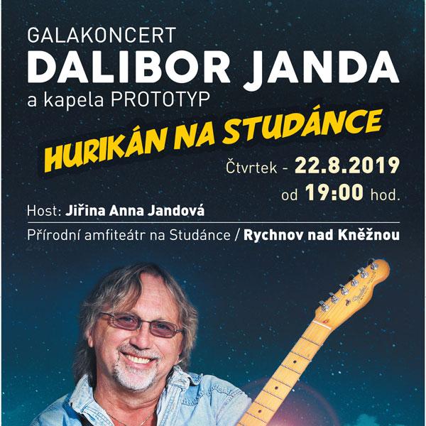 Galakoncert Dalibor Janda a kapela Prototyp