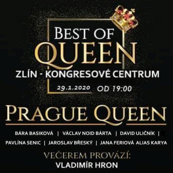 The Best of QUEEN aneb PRAGUE QUEEN a hosté