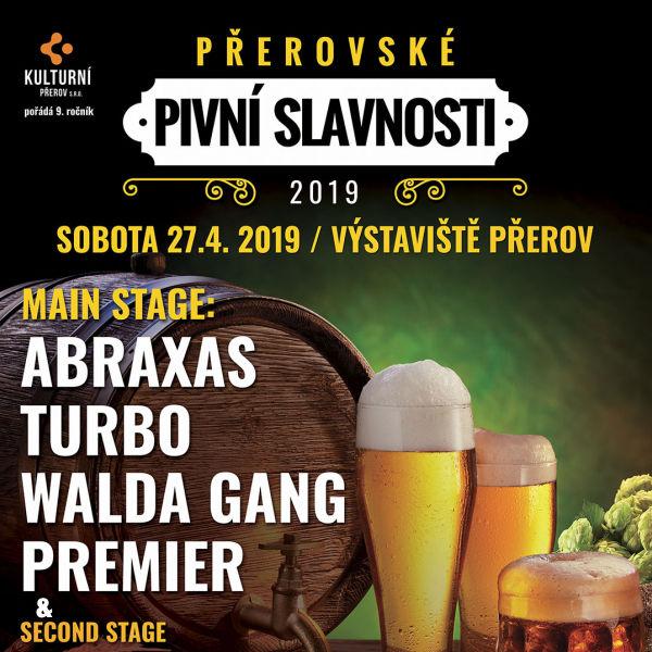 Přerovské pivní slavnosti 2019