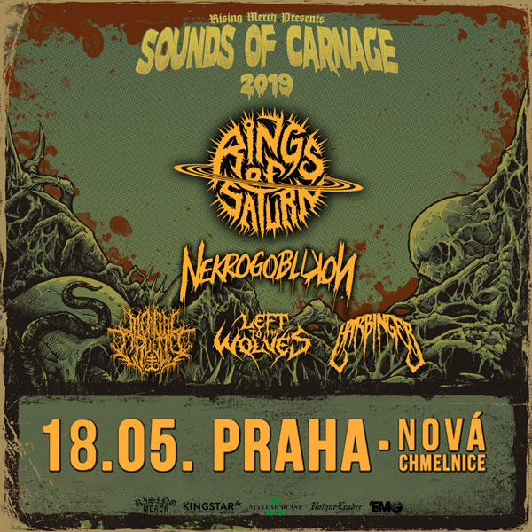 RINGS OF SATURN (USA) + NEKROGOBLIKON (USA) a dalš