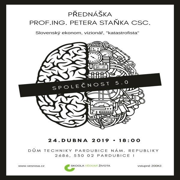 Přednáška prof. Ing. Petera Staňka, Csc