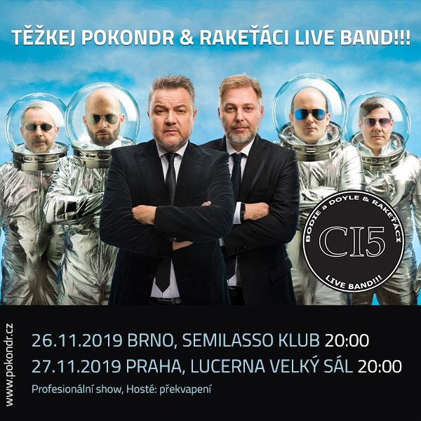 Težkej Pokondr & Rakeťáci Live Band