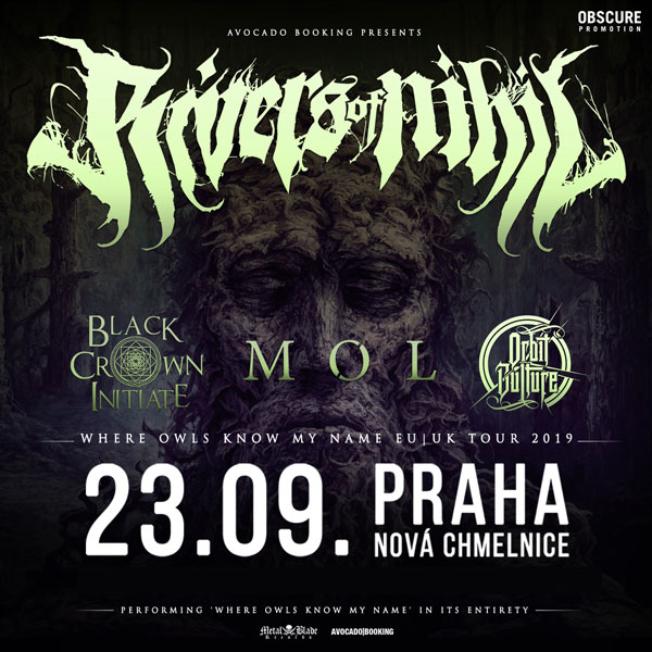 RIVERS OF NIHIL (USA) + BLACK CROWN INITIATE (USA)