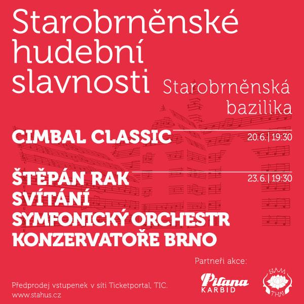 Svítání, Štěpán Rak a orchestr Konzervatoře Brno