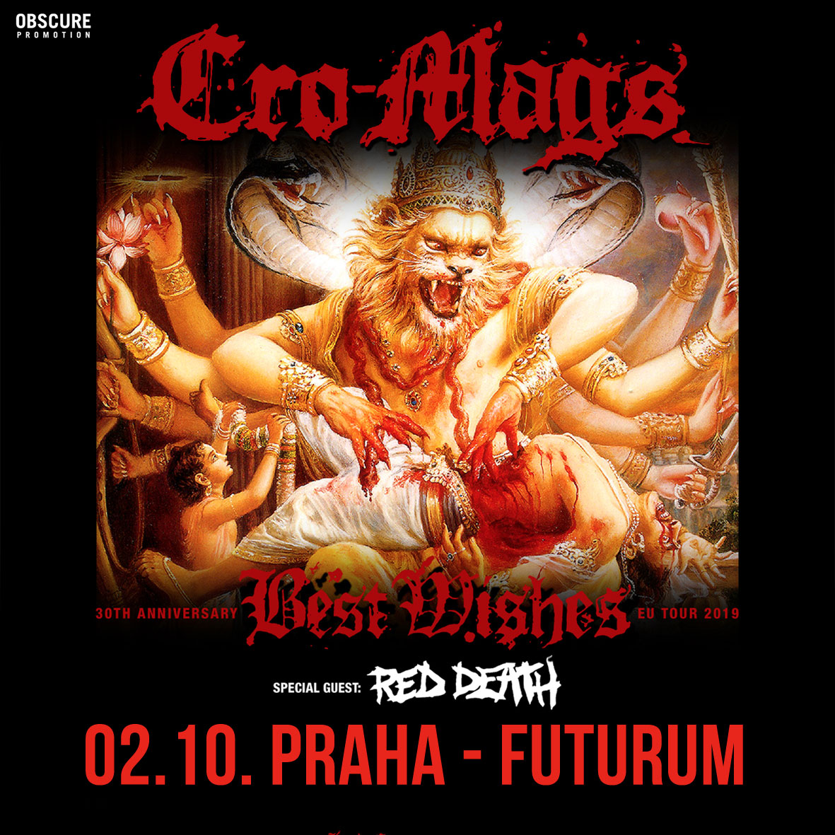 CRO-MAGS (USA) + Red Death (USA)