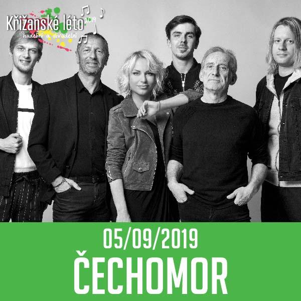 ČECHOMOR - KOOPERATIVA TOUR, Křižanské léto