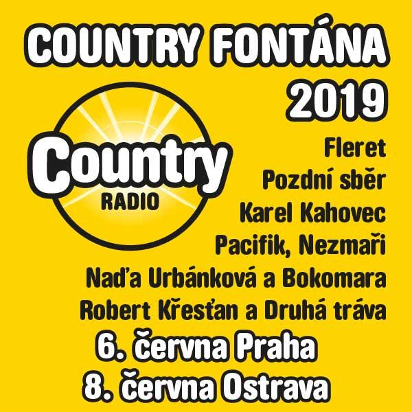COUNTRY FONTÁNA 2019