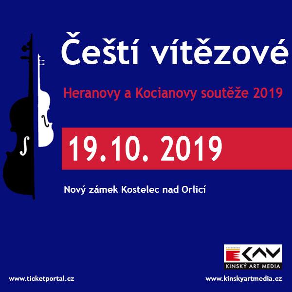 Čeští vítězové Kocianovy a Heranovy soutěže 2019