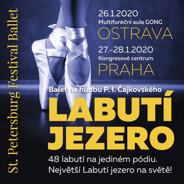 St. Petersburg Ballet - největší Labutí jezero
