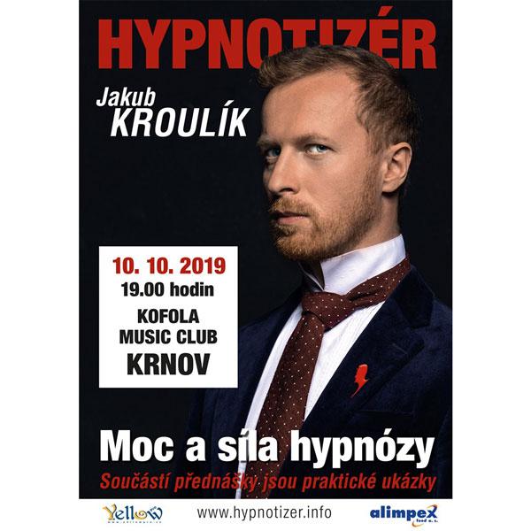 Hypnotizér Jakub Kroulík